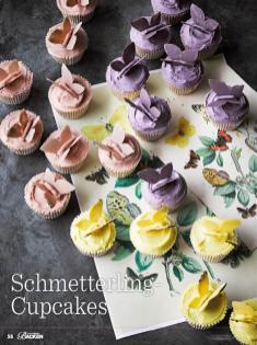 Rezept - Schmetterling-Cupcakes - Das große Backen - 09/2018