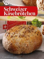Rezept - Schweizer-Käsebrötchen - Simply Kreativ - Brot backen - Sonderheft - 01/2019