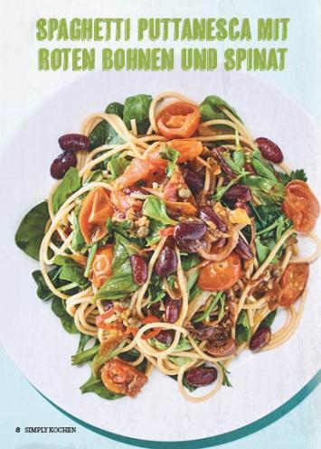 Rezept - Spaghetti-Puttanesca - Simply Kochen Mediterran 05/2018