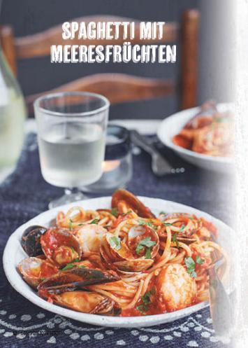 Rezept - Spaghetti mit Meeresfrüchten - Simply Kochen Mediterran 05/2018