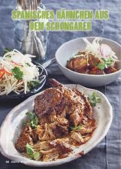 Rezept - Spanisches Hähnchen aus dem Schongarer - Simply Kochen Mediterran 05/2018