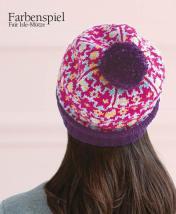 Strickanleitung - Farbenspiel - Fair Isle Mütze - Designer Knitting - 06/2018