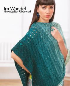 Strickanleitung - Im Wandel - Geknöpfter Überwurf - Designer Knitting 05/2018