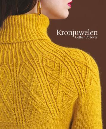 Strickanleitung - Kronjuwelen - Gelber Pullover - Designer Knitting 05/2018