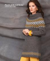 Strickanleitung - Pass(en)genau - Tunika in A-Linie - Designer Knitting - 06/2018