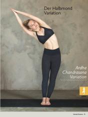 Yoga-Anleitung - Der Halbmond Variation - Yoga - der große Guide - 01/2018