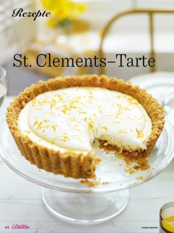 Rezept - St. Clements-Tarte - Das große Backen - 10/2018