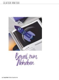 Häkelanleitung - Bereit zum Abheben - Simply Häkeln - 06/2018