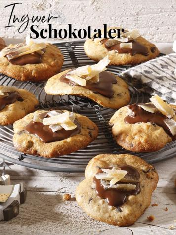 Rezept - Ingwer-Schokotaler - Simply Backen Special Weihnachtsplätzchen mit dem Thermomix® - 01/2018