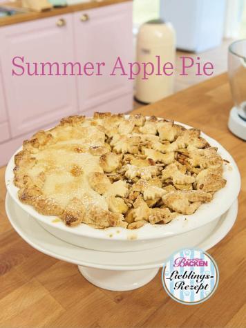 Rezept - Summer Apple Pie - Das große Backen - 10/2018