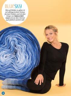 Strickanleitung - BlueSky - Simply kreativ - Stricken mit Farbverlaufsbobbeln - 02/2018