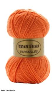 buttinette Acrylwolle orange