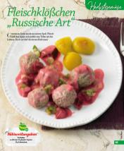 "Rezept - Fleischklößchen ""Russische Art"" - Simply Kochen mini – Rezepte für den Thermomix® 06/2018"