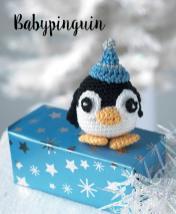 Häkelanleitung - Babypinguin - Mini Weihnachts-Deko Häkeln Vol. 5