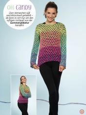 Häkelanleitung - Oh Candy - Simply Kreativ Häkeln mit Farbverlaufs-Bobbeln Vol. 1 - 01/2019