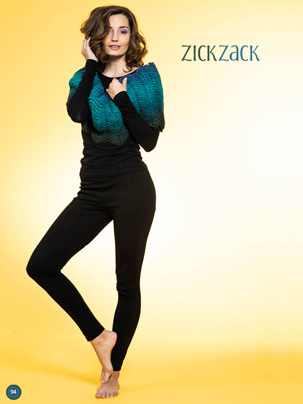 Häkelanleitung - Zickzack - Simply Kreativ Häkeln mit Farbverlaufs-Bobbeln Vol. 2 Heft 02/2019