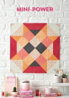Nähanleitung - Mini-Power - Simply Kreativ Patchwork + Quilting - 01/2019