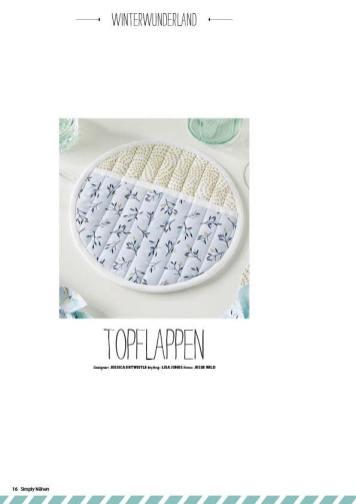 Nähanleitung - Topflappen - Simply Nähen - 06/2018