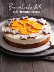 Rezept - Baumkuchentorte mit Orangencreme - Simply Kreativ Sonderheft Weihnachtsrezepte 01/2019