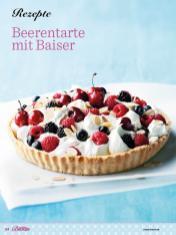 Rezept - Beerentarte mit Baiser - Das grosse Backen - 11/2018