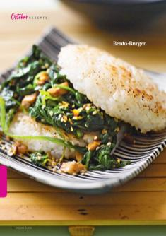 Rezept - Bento-Burger - Simply Kreativ - Vegan-Guide 01/2019