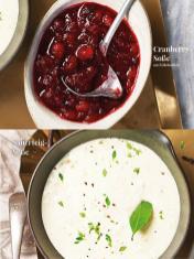 Rezept - Cranberry-Soße mit Schlehenlikör / Sauerteig-Soße - Simply Kreativ Sonderheft Weihnachtsrezepte 01/2019