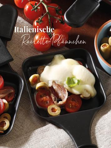 Rezept - Italienische Raclette-Pfännchen - Simply Kreativ Sonderheft Weihnachtsrezepte 01/2019