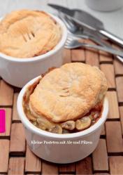 Rezept - Kleine Pasteten mit Ale und Pilzen - Simply Kreativ - Vegan-Guide 01/2019
