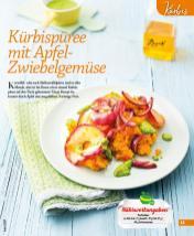 Rezept - Kürbispüree mit Apfel-Zwiebelgemüse - Simply Kochen mini – Rezepte für den Thermomix® 06/2018