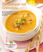 Rezept - Kürbissuppe mit Gremolata - Simply Kochen mini – Rezepte für den Thermomix® 06/2018