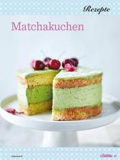 Rezept - Matchakuchen - Das grosse Backen - 11/2018
