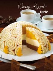 Rezept - Orangen-Kuppel-Torte - Simply Kreativ Sonderheft Weihnachtsrezepte 01/2019