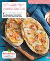 Rezept - Schwäbischer Flammkuchen - Simply Kochen mini – Rezepte für den Thermomix® 06/2018
