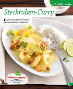 Rezept - Steckrueben-Curry - Simply Kochen mini – Rezepte für den Thermomix® 06/2018