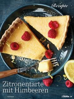 Rezept - Zitronentarte mit Himbeeren - Das grosse Backen - 11/2018