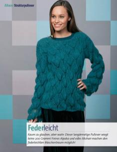 Strickanleitung - Federleicht - Fantastische Winter Strickideen - 05/2018