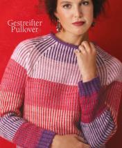 Strickanleitung - Gestreifter Pullover - Designer Knitting 01/2019