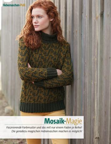 Strickanleitung - Mosaik-Magie - Fantastische Winter Strickideen - 05/2018