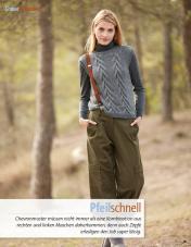 Strickanleitung - Pfeilschnell - Fantastische Winter Strickideen - 05/2018