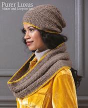 Strickanleitung - Purer Luxus - Mütze und Loop im Set - Designer Knitting 01/2019