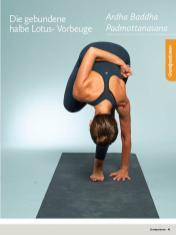 Yoga Anleitung - Ardha Baddha Padmottanasana - Sportplaner - Yoga Guide 01/2019