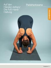 Yoga Anleitung - Padahastasana - Sportplaner - Yoga Guide 01/2019