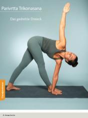 Yoga Anleitung - Parivrtta Trikonasana - Sportplaner - Yoga Guide 01/2019