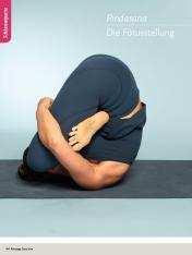 Yoga Anleitung - Pindasana - Sportplaner - Yoga Guide 01/2019