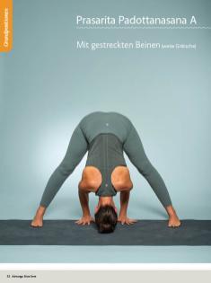 Yoga Anleitung - Prasarita Padottanasana A - Sportplaner - Yoga Guide 01/2019