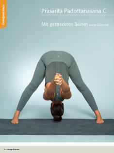 Yoga Anleitung - Prasarita Padottanasana C - Sportplaner - Yoga Guide 01/2019