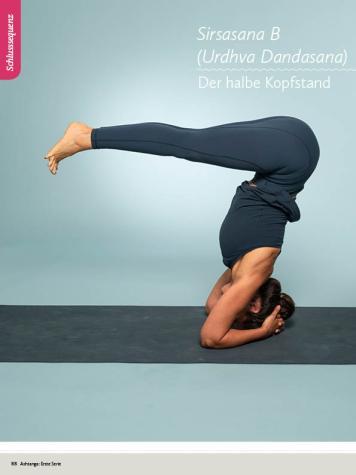 Yoga Anleitung - Sirsasana B (Urdhva Dandasana) - Sportplaner - Yoga Guide 01/2019