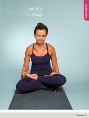 Yoga Anleitung - Tolasana - Sportplaner - Yoga Guide 01/2019