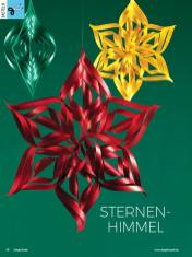 Bastelanleitung - Sternenhimmel - Simply Kreativ - 01/2019