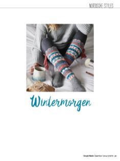 Häkelanleitung - Wintermorgen - Simply Häkeln 01/2019